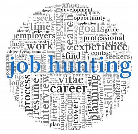 15891106 job hunting concept in word tag cloud on white background 5 Things You Didnt Think You Needed to Get a Job